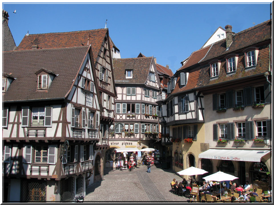 colmar petite ville de charme en alsace. Black Bedroom Furniture Sets. Home Design Ideas