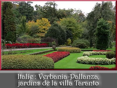 Verbania-Pallanza, jardins de la villa Taranto