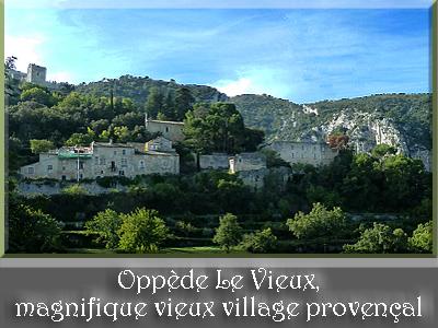 Oppède Le Vieux, magnifique vieux village provençal