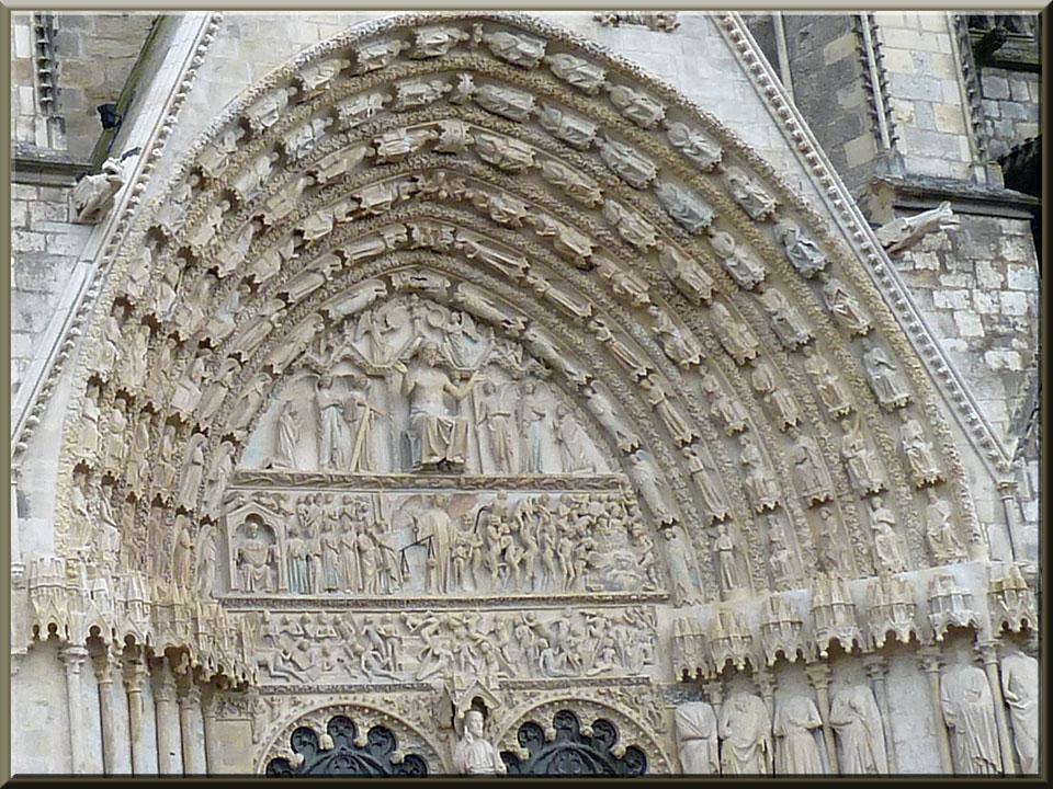 Bourges, cathédrale St-Etienne, portail central