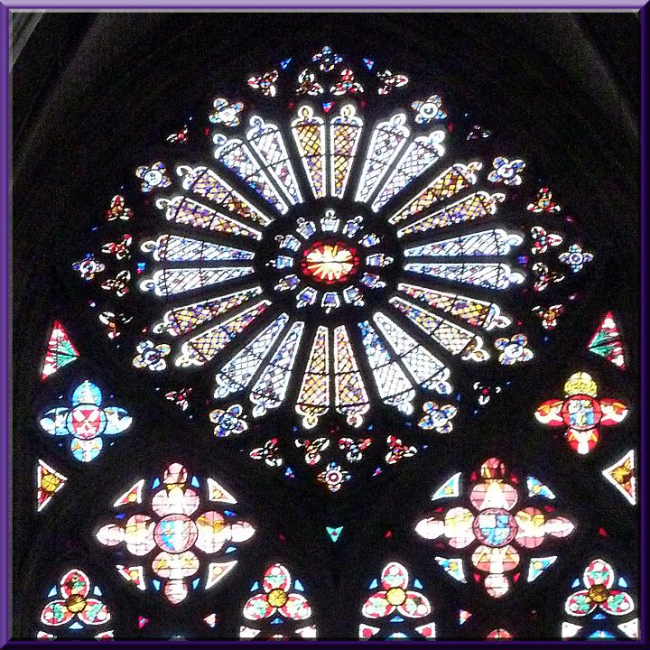 Bourges, cathédrale St-Etienne, rosace