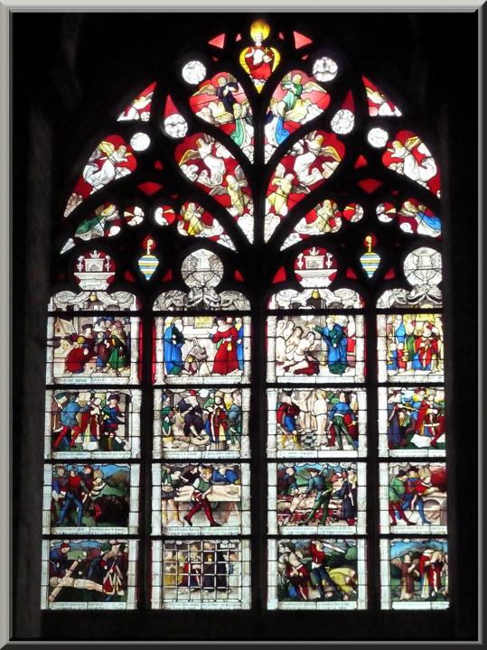 Bourges, cathédrale St-Etienne, vitrail