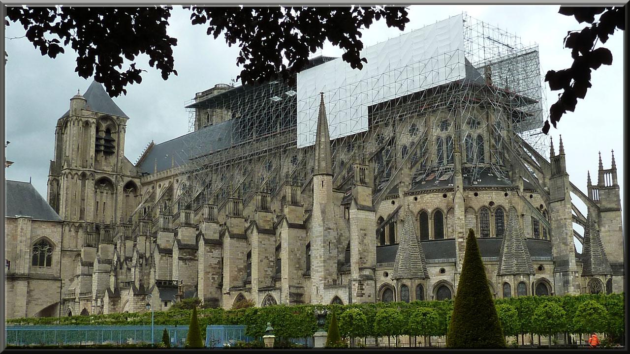 Bourges, cathédrale St-Etienne