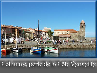 Collioure, perle de la Côte Vermeille
