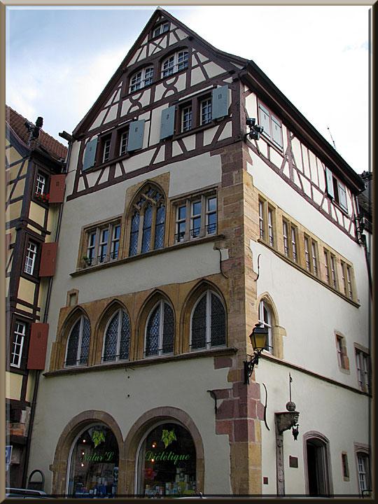 Colmar, maison Adolph