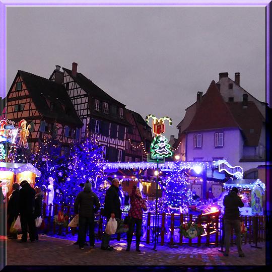 Colmar, marché de Noël de la Petite Venise
