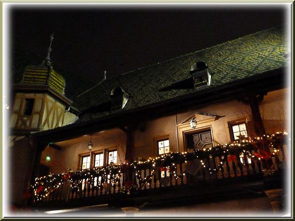 Colmar, Noël, ancienne douane