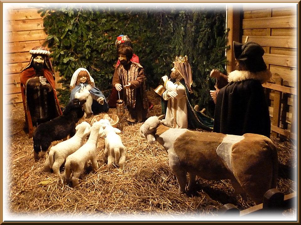 Colmar, Noël, crèche