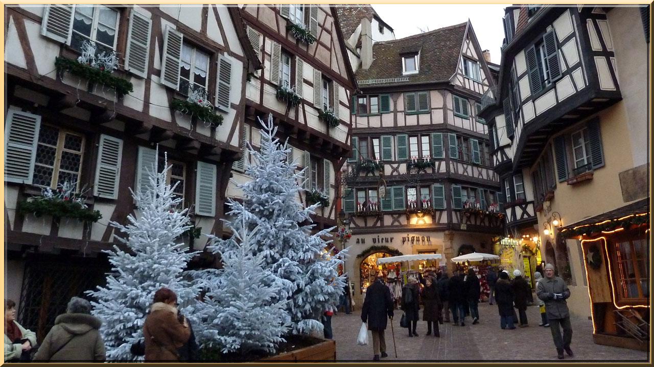 Colmar, Noël, quartier des Tanneurs