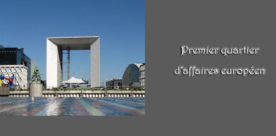 La Défense à Pairs, la Grande Arche