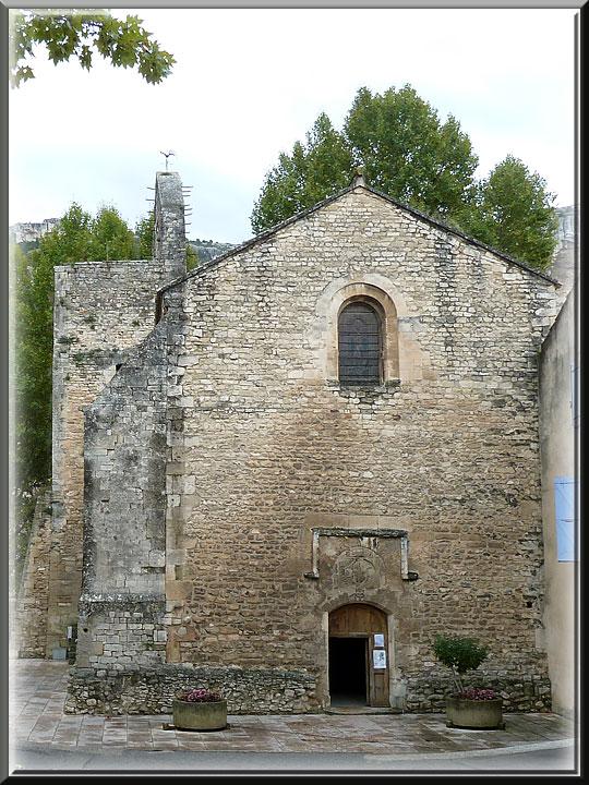 Fontaine de Vaucluse, église St-Véran