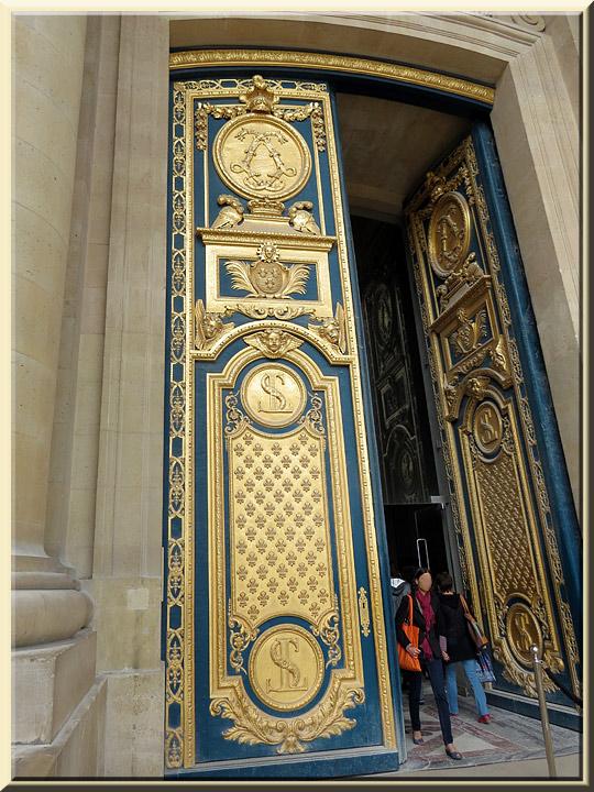 Dôme des Invalides, porte
