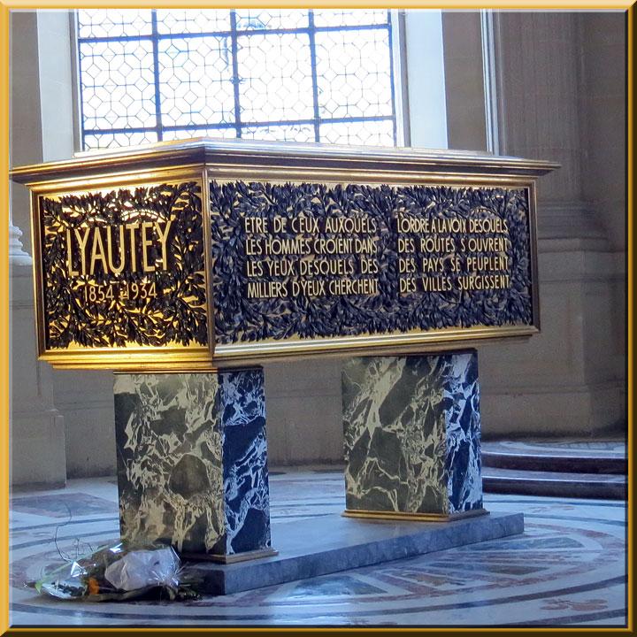 Dôme des Invalides, tombeau de Lyautey