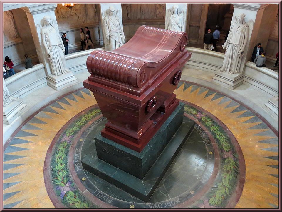Dôme des Invalides, tombeau de Napoléon Ier