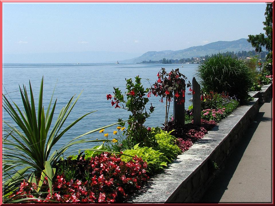Montreux, quai des Fleurs