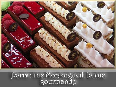 Paris, pâtisserie Stohrer de la rue Montorgueil