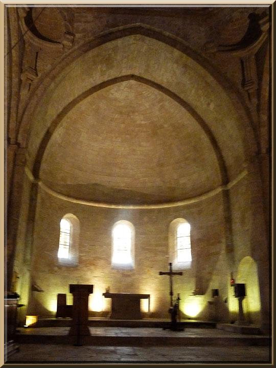 Abbaye de Sénanque, abside de l'église