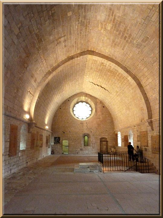 Abbaye de Sénanque, ancien dortoir