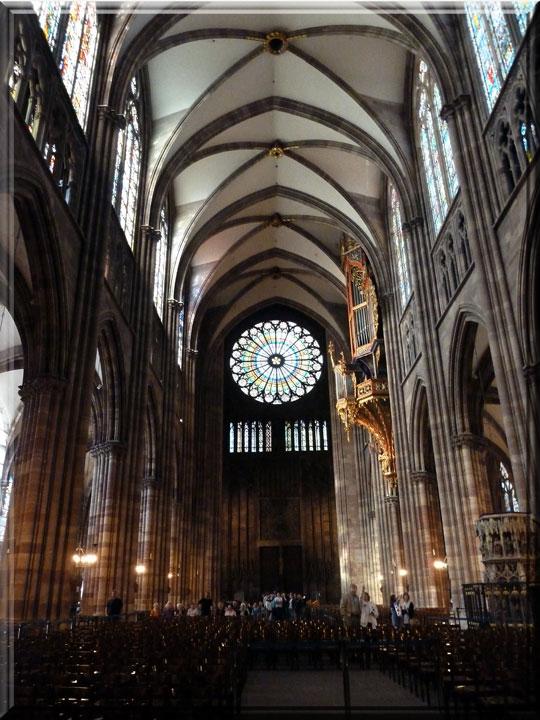 Strasbourg, cathédrale Notre-Dame, nef