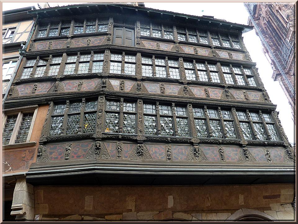 Strasbourg,autour de la cathédrale, maison Kammerzell