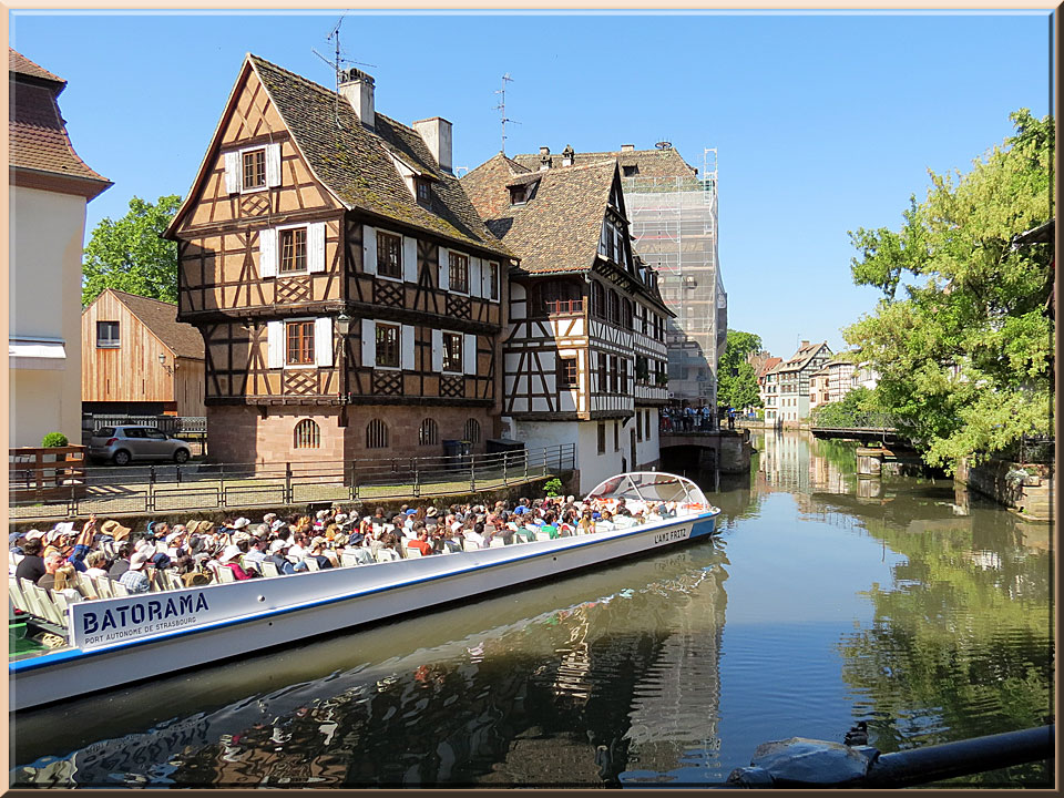 Strasbourg, Petite France, pont tournant