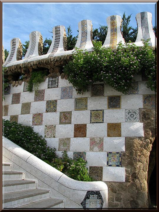 Barcelone, parc Güell