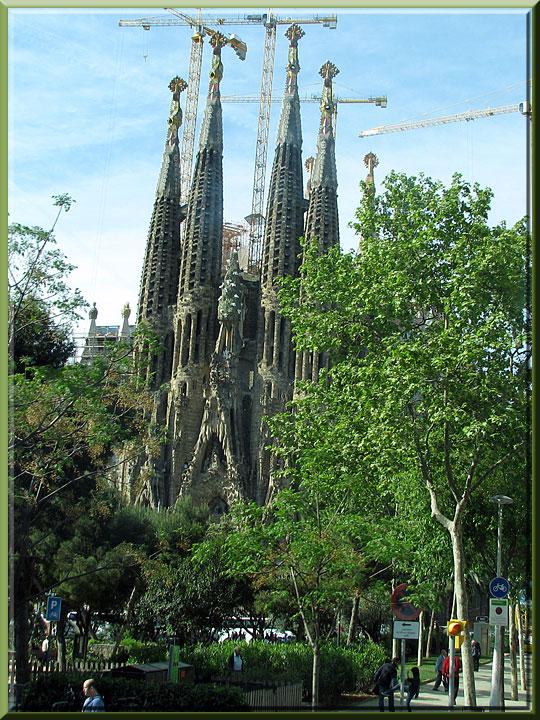Barcelone, Sagrada Familia