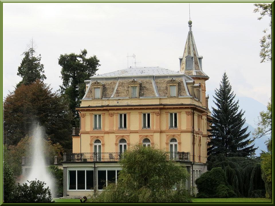 jardins de la villa Taranto à Verbania-Pallanza, la villa Taranto