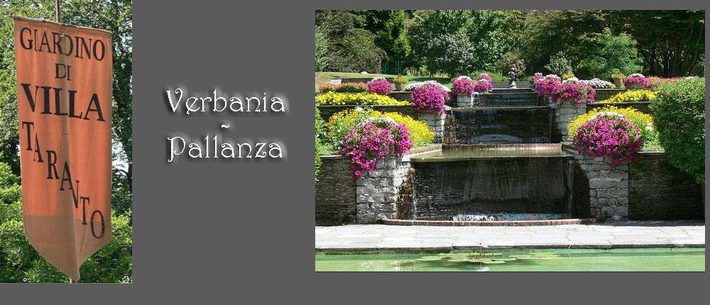 jardins de la villa Taranto à Verbania-Pallanza