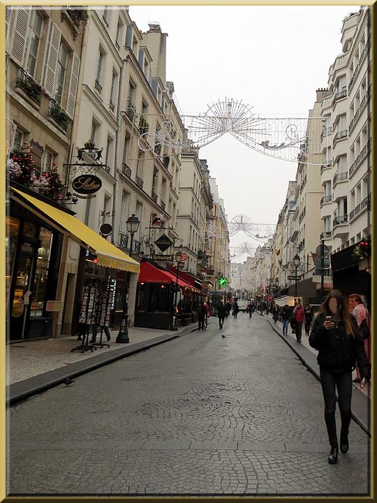 rue Montorgueil à Paris
