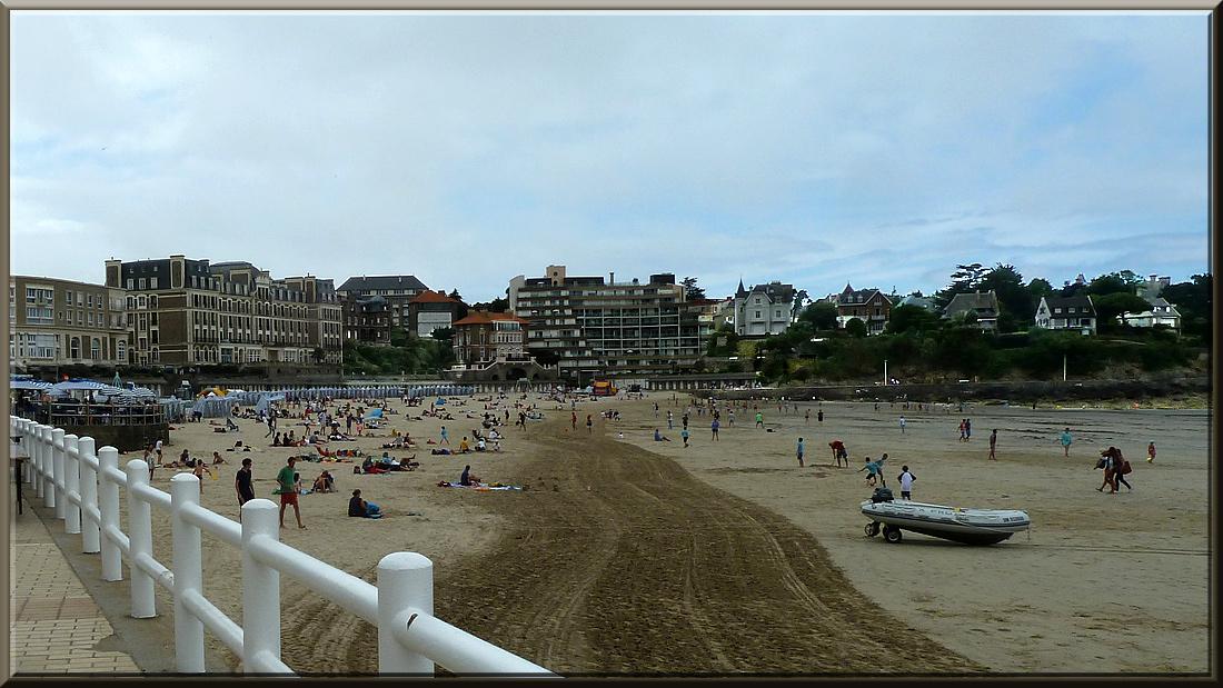 Dinard, plage de l'Ecluse