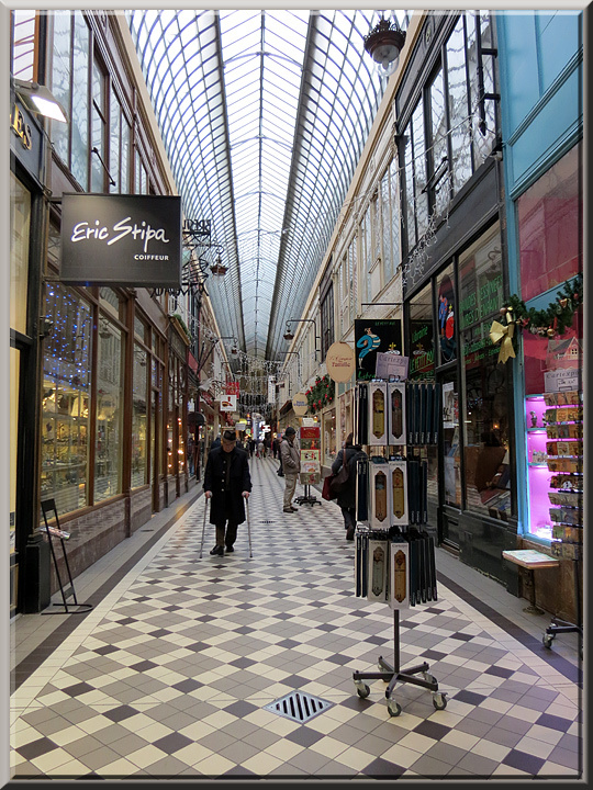 les passages de Paris, passage Jouffroy