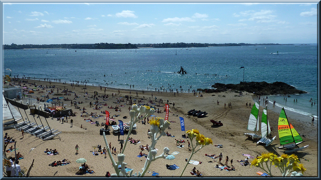 Saint-Malo, plage