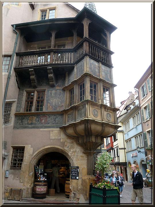 Colmar, maison Pfister