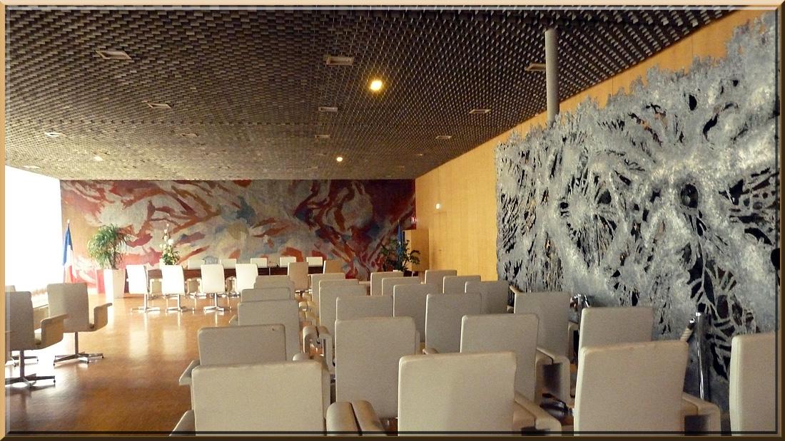 Grenoble, Hôtel de ville, salle des mariages