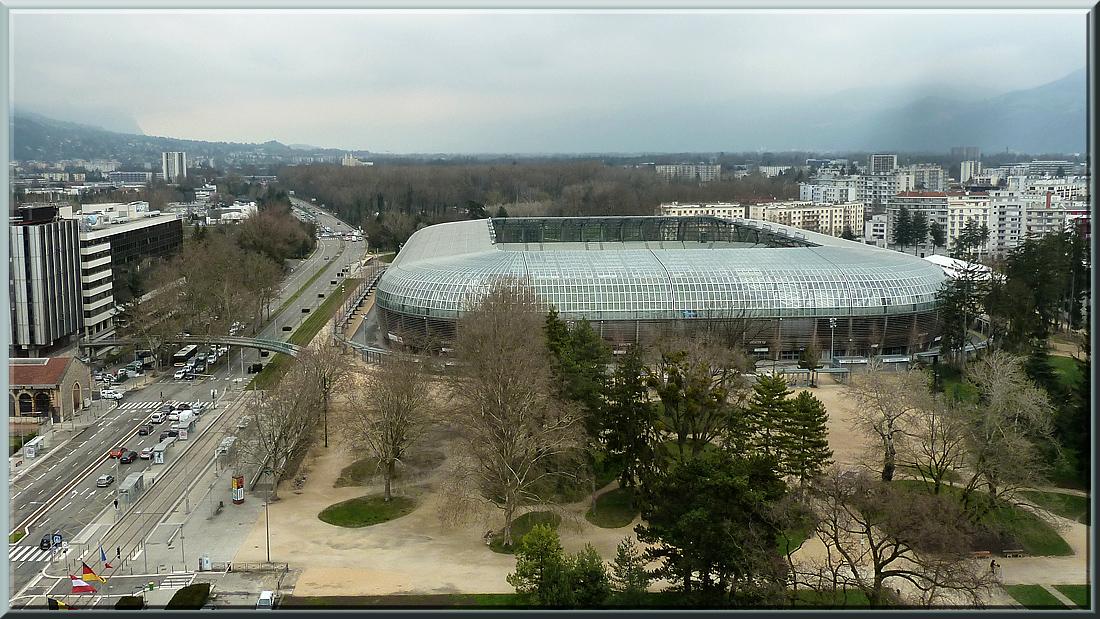 Grenoble, stade des Alpes