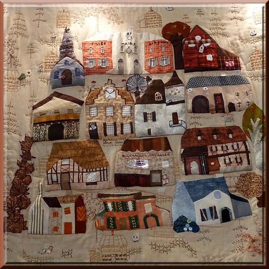 Créativa à Grenoble, patchwork