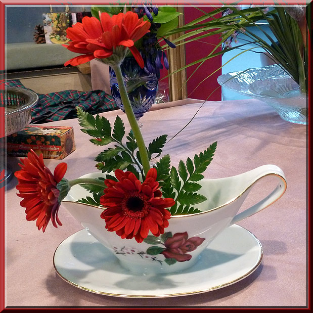 Créativa à Grenoble, pique-fleurs