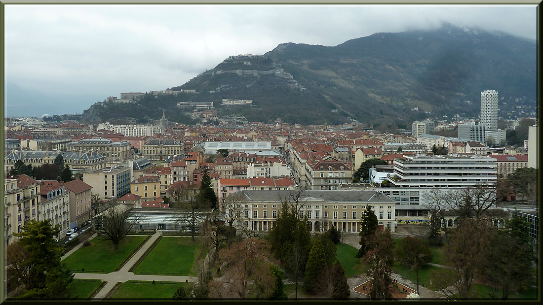 Grenoble, partie Nord et Bastille