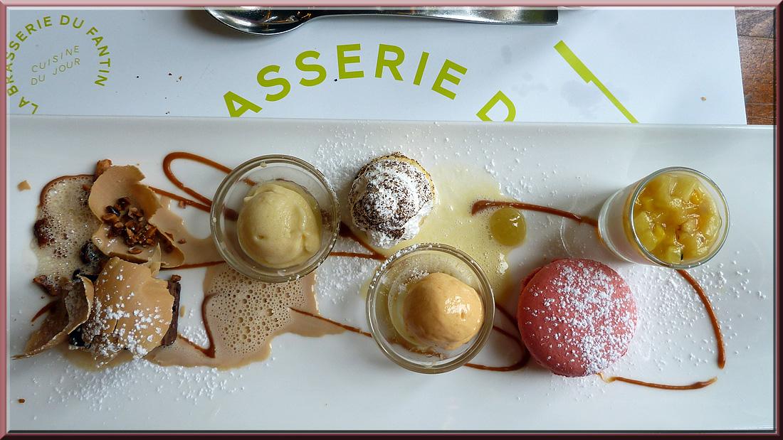 Grenoble, restaurant Fantin Latour, dessert