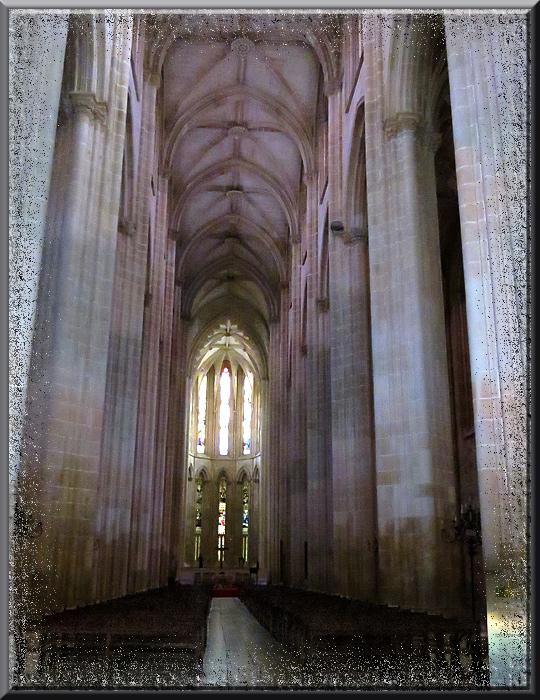 Batalha, nef centrale de l'église