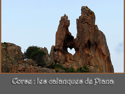 calanques de Piana