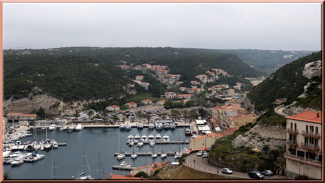 Bonifacio, le port