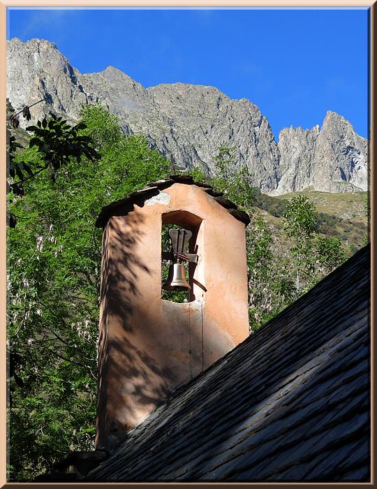 La Chapelle en Valgaudémar, chapelle restaurée du hameau de Navette