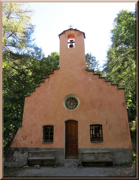 La Chapelle en Valgaudémar, chapelle restaurée du village de Navette