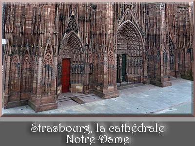 Strasbourg, cathédrale Notre-Dame