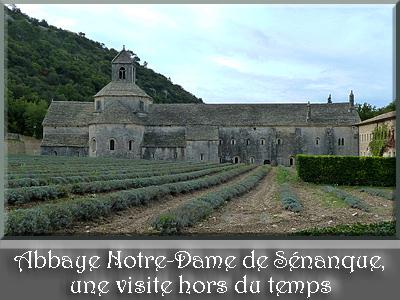 Abbaye Notre-Dame de Sénanque en Provence