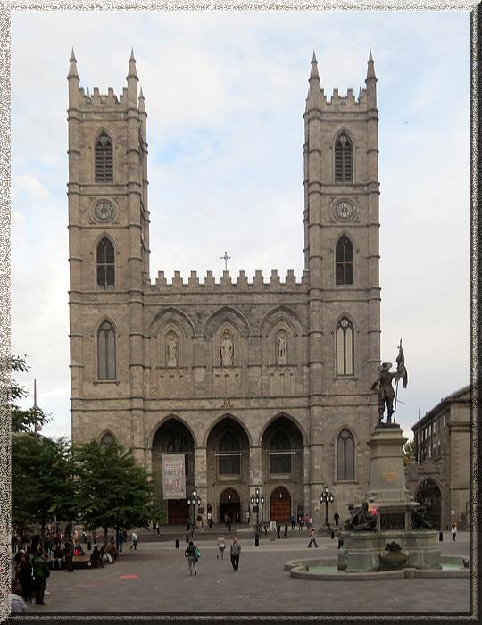 Montréal, basilique Notre-Dame de Montréal
