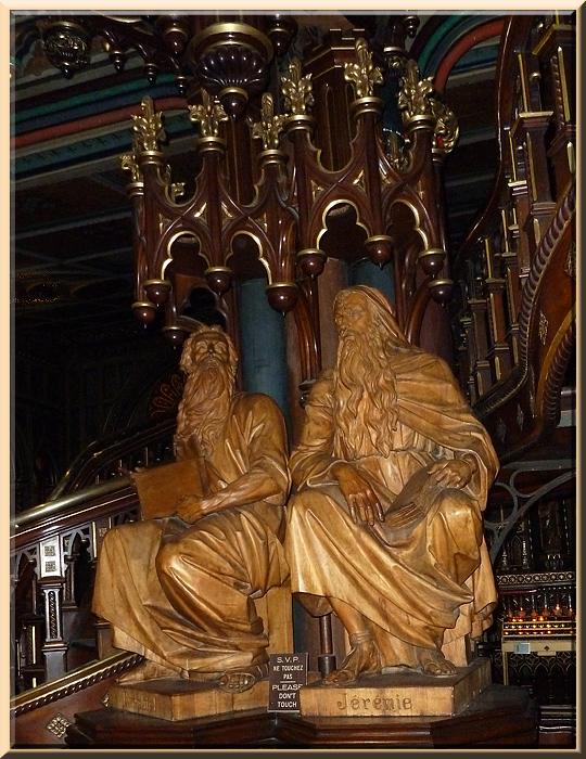 Basilique Notre-Dame de Montréal, chaire