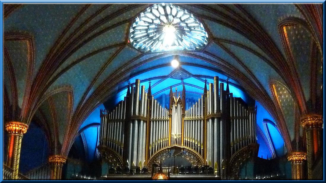 Basilique Notre-Dame de Montréal, orgue